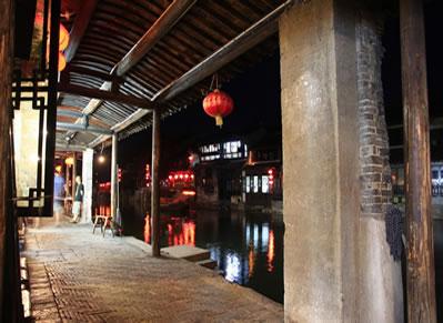 千年古镇 西塘一日游 杭州出发到西塘旅游